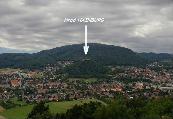 Hrad hainburg an der donau. border=0>